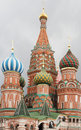 The cathedral of saint basil the blessed moscow russia Stock Image