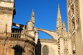 The Cathedral of Saint Mary of the See, Sevilla Stock Photos