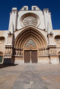 Cathedral of saint mary of tarragona catalonia spain Stock Photography