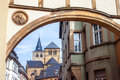Cathedral of saint peter view in trier germany Royalty Free Stock Images