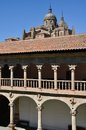 Cathedral of Salamanca and Las Duenas Convent Stock Photos