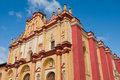 Cathedral of san cristobal de las casas chiapas mexico Stock Photography
