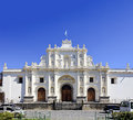 Cathedral of San Jose in Antigua, Guatemala Royalty Free Stock Images