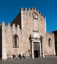 Cathedral San Nicola Royalty Free Stock Images