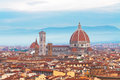 Cathedral  Santa Maria del Fiore, Florence, Italy Royalty Free Stock Photo