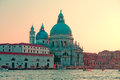 Cathedral of Santa Maria della Salute Stock Photo
