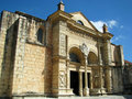Cathedral Santa Maria la Menor in Santo Domingo Royalty Free Stock Photography