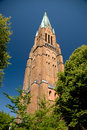 Cathedral of schleswig in germany Stock Photography