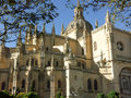 Cathedral of Segovia, Spain Stock Images