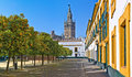 The cathedral of seville Royalty Free Stock Photo