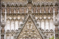 Cathedral of seville details the it is the largest in spain and the third largest by square footage in the entire Royalty Free Stock Images