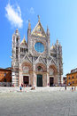 Cathedral of siena duomo di italy Stock Photo