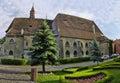 Cathedral of sighisoara main the town where vlad tepes draculea was born transylvania romania Royalty Free Stock Image