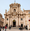 Cathedral of Siracusa Stock Image