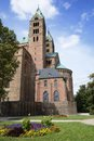 Cathedral of speyer the kaiserdom the rhineland palatinate germany Royalty Free Stock Photos