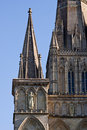 Cathedral Spires Royalty Free Stock Photos