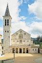 The cathedral of Spoleto Stock Photos