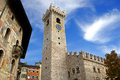 Cathedral Square - Trento Italy Stock Image