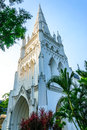 Cathedral st andrew s in singapore Stock Photography