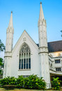 Cathedral st andrew s in singapore Stock Image