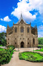 Cathedral of st barbara czech in kutna hora Stock Image