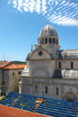 Cathedral of St. James in Sibenik, Croatia Royalty Free Stock Photography