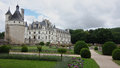 Castles of Loire in France. Royalty Free Stock Photo