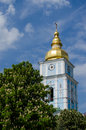 Cathedral st michael s golden domed monastery in kiev Royalty Free Stock Photography