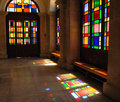 Cathedral of St. Minas, interior Royalty Free Stock Photo