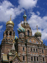 Cathedral in St. Petersburg Royalty Free Stock Images