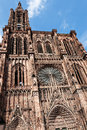 Cathedral of strasbourg france alsace Stock Photography