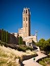 Cathedral of Sue Vella, LLeida, Catalunya, Spain Royalty Free Stock Photo