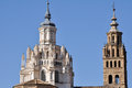 Cathedral of Tarazona (Spain) Royalty Free Stock Photography