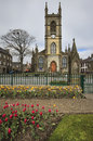 Cathedral in thurso scotland uk is s most northerly town and home to the country s most northerly railway station located on Stock Photos