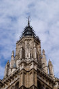 Cathedral of toledo gothic style the marvelous city spain Stock Photos