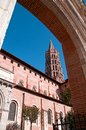 Cathedral in Toulouse II Royalty Free Stock Photography