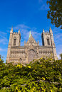 Cathedral in trondheim norway architecture background Stock Photography