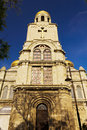 Cathedral varna bulgaria with blue sky Royalty Free Stock Photography