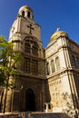 Cathedral varna bulgaria with blue sky Royalty Free Stock Image