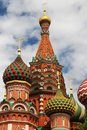 The Cathedral of Vasily the Blessed, Moscow Royalty Free Stock Photo