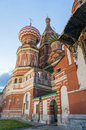Cathedral of vasily the blessed on red square moscow russia Stock Photo