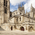 Cathedral of Virgin Mary in Burgos, Spain Royalty Free Stock Images