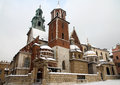 Cathedral on Wawel castle Royalty Free Stock Photo