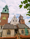 Cathedral of Wawel, Krakow, Poland Royalty Free Stock Photos