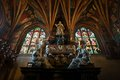 Cathedral of wawel the part of wawel castle complex interior krakow poland Stock Image