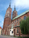 Cathedral, Wroclaw, Poland Royalty Free Stock Photo