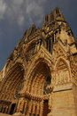 Cathedrale notre dame reims Stock Photo