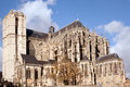Cathedrale St-Julien du Mans Royalty Free Stock Photo