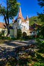 Catherine gate in brasov romania kronstadt transylvania Stock Images