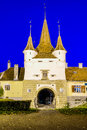 Catherine gate in brasov romania kronstadt transylvania Royalty Free Stock Photo